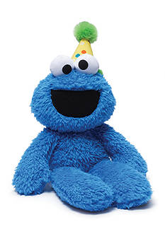 Gund® Plush Birthday Cookie Monster Take Along Buddy