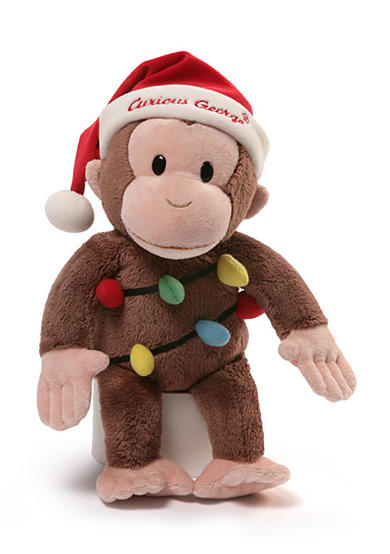 Gund® Curious George Holiday Plush 12