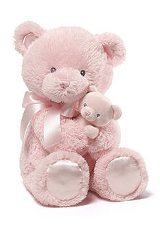 Gund® Momma & Baby Bear Rattle Combo