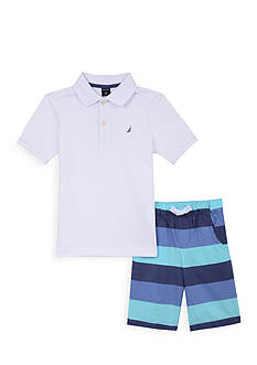Nautica 2-Piece Polo Set Toddler Boys