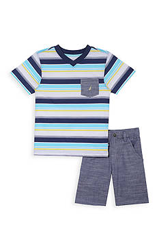 Nautica 2-Piece Tee Set Toddler Boys