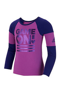 adidas Game On Raglan Top Toddler Girls