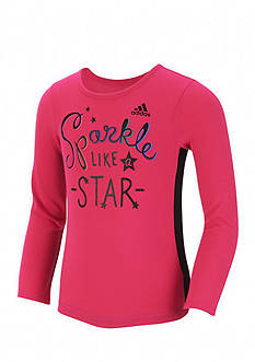adidas Sparkle Star Top Toddler Girls