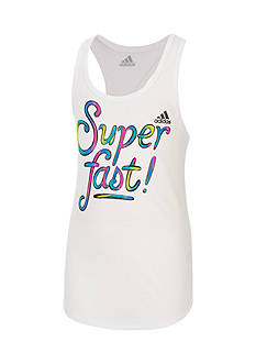 adidas On The Run Tank Top Toddler Girls
