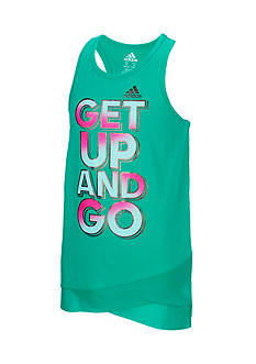 adidas 'Three Two Run' Tank Toddler Girls