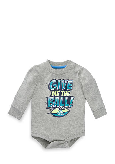 adidas® Sports Ball Printed Bodysuit Baby/Infant Boy