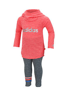 adidas Melange Hooded Set Baby/Infant Girl