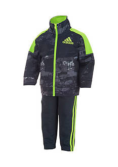 adidas Tricot Printed Jacket And Pant Set