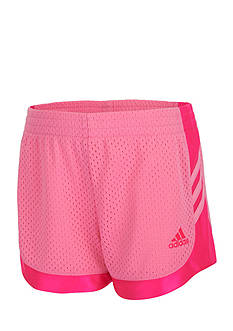 adidas® Sport Shorts Toddler Girls