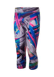adidas® Printed Capri Tights Toddler Girls
