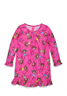 J. Khaki® Monkey Night Gown Girls 4-16