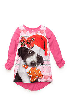 J. Khaki® Christmas Dog Night Gown Girls 4-16
