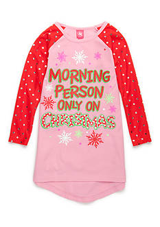 J. Khaki® Christmas Mornings Night Gown Girls 4-16