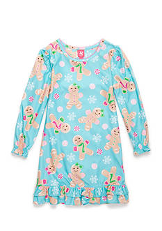 J. Khaki® Gingerbread Girl Night Gown Girls 4-16