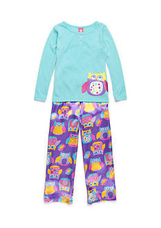 J. Khaki® Dotty Owl 2-Piece Pajama Set Girls 4-16