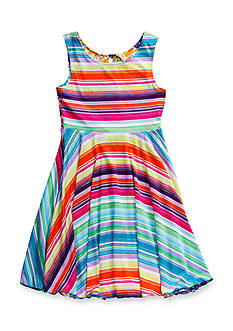 Bloome Pineapple to Striped Reversible Dress Girls 7-16
