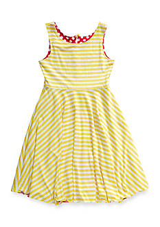 Bloome Striped to Multi Print Reversible Dress Girls 7-16