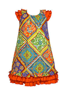 Bonnie Jean® Printed Bandana Poplin Dress Girls 7-16