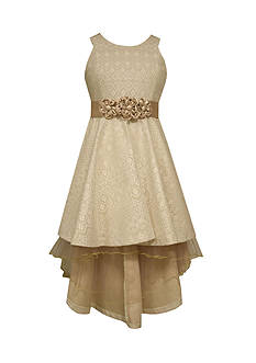 Bonnie Jean® Bonded Lace High Low Dress Girls 7-16