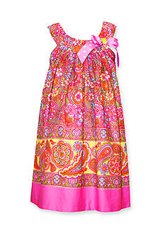 Bonnie Jean® Paisley Shift Dress Girls 4-6x
