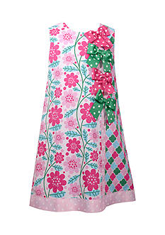 Bonnie Jean Floral Bow Dress Girls 4-6x