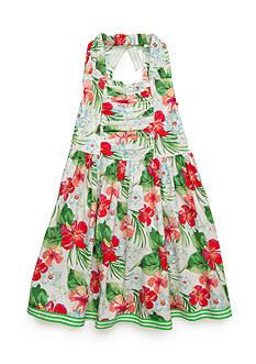 Bonnie Jean Tropical Dress Girls 7-16