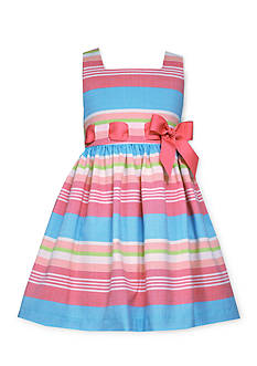 Bonnie Jean® Stripe Linen Dress Girls 4-6x
