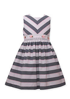 Bonnie Jean Stripe and Flower Dress Girls 4-6x