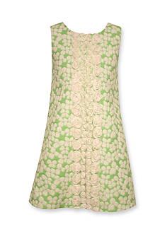 Bonnie Jean Jaquard Shift Dress Girls 4-6x