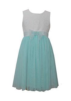 Bonnie Jean Eyelet Ballerina Gown Girls 4-6x