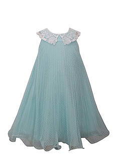 Bonnie Jean Pleated Wire Hem Dress Girls 7-16