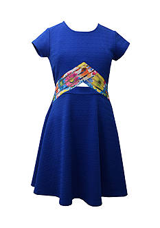 Bonnie Jean Peekaboo Skater Dress Girls 7-16