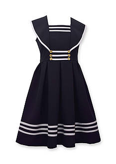 Bonnie Jean Nautical Dress Girls 7-16