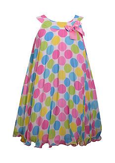 Bonnie Jean Polka Dot Party Dress Girls 7-16