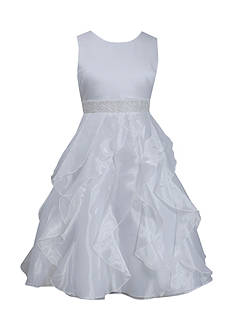 Bonnie Jean Petal Cascade Communion Dress Girls 7-16