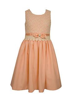 Bonnie Jean Linen Lace Dress Girls 7-16