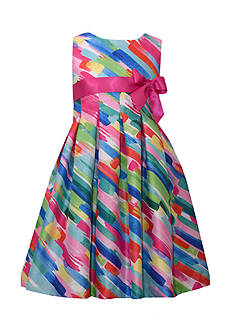 Bonnie Jean Watercolor Dress Girls 7-16 Plus