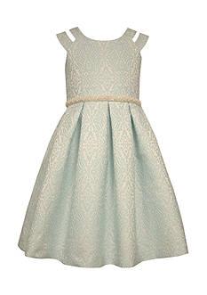 Bonnie Jean Jacquard Dress Girls 7-16 Plus