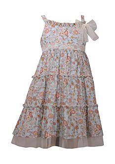 Bonnie Jean Paisley Tiered Dress Girls 4-6x