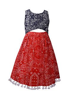 Bonnie Jean Bandana Dress Girls 7-16