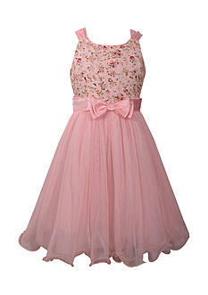 Bonnie Jean Lace To Mesh Ballerina Dress Girls 7-16 Plus