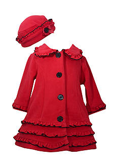 Bonnie Jean Fleece Coat Girls 4-6x