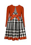 Bonnie Jean Cardigan and Plaid Dress Set Girls