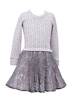 Bonnie Jean Cable Knit Dress Girls 7-16 Plus