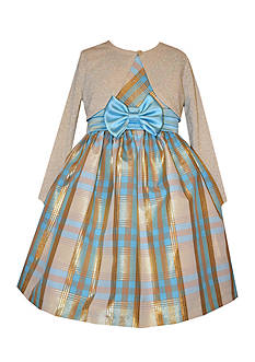 Bonnie Jean Plaid Dress Girls 4-6x