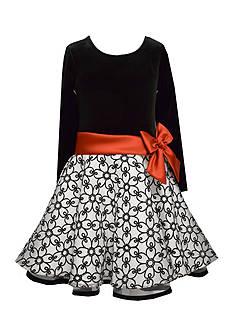 Bonnie Jean Drop Waist Plaid Dress Girls 4-16