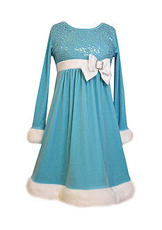 Bonnie Jean Santa's Helper Dress Girls 7-16