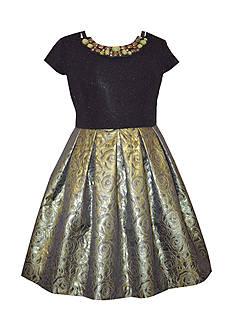 Bonnie Jean Novelty Knit Dress Girls 7-16