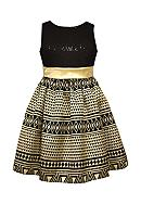 Bonnie Jean Aztec Zequin Dress Girls 7-16
