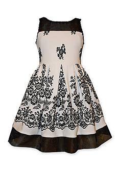 Bonnie Jean Floral Dress Girls 7-16